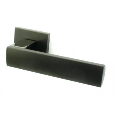Дверная ручка COLOMBO  ALBA LC91RSB-GLS графит / матовый графит