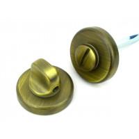 Завертка в санузел COLOMBO design CD 69 BSG OA матовая бронза