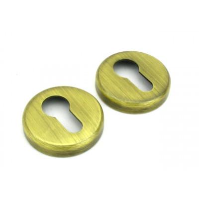 Накладка на цилиндр COLOMBO design CD43G-OM матовое золото