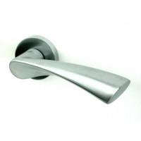 Дверная ручка COLOMBO design FLESSA матовый хром