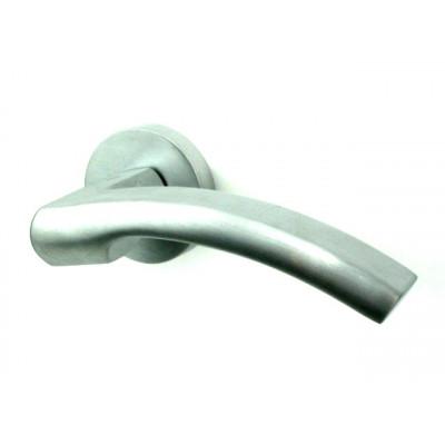 Дверная ручка COLOMBO design OLLY матовый хром