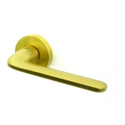 Дверная ручка COLOMBO design ROBOQUATTRO матовое золото