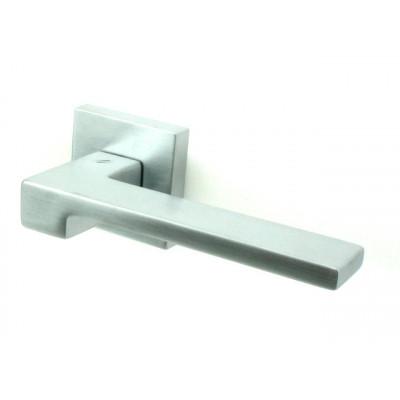 Дверная ручка COLOMBO design ZELDA матовый хром