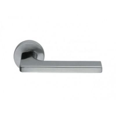 Дверная ручка COLOMBO GIRA JM11RSB-CM матовый хром