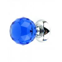 Дверная ручка ONYX KRYSTAL PREMIUM 6025 DB/CP