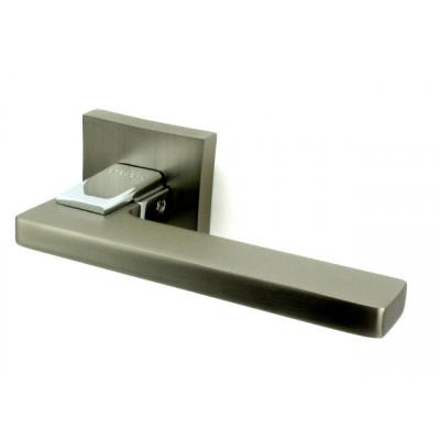 Дверная ручка ORO&ORO 927-13 MSN/CP никель матовый/хром