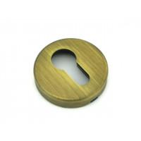 Накладка на цилиндр Fratelli Cattini CYL-7-BY матовая бронза