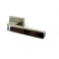 Дверная ручка FUARO NEO DM SN|CP матовый никель/хром