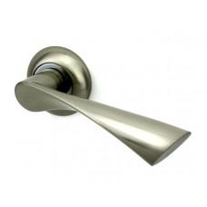 Дверная ручка FUARO PRIMA RM SN/CP-3 матовый никель/хром