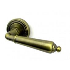 Ручка дверная PUNTO LIBRETTO ABG бронза зеленая