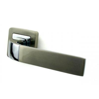 Ручка дверная PUNTO ORION SN/CP матовый никель/хром