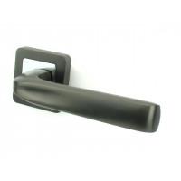 Ручка дверная PUNTO SATURN GR/CP графит/хром