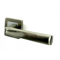 Ручка дверная PUNTO SATURN SN/CP матовый никель/хром