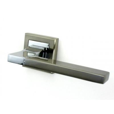 Ручка дверная PUNTO TECH SN/CP матовый никель