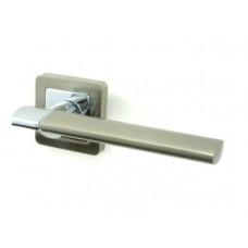 Ручка дверная PUNTO GALAXY SN/CP матовый никель/хром