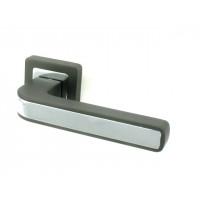 Ручка дверная PUNTO NOVA GR/CP графит/хром