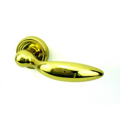 Дверная ручка Venezia MAGGIORE D3 полированная латунь