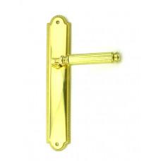 Дверная ручка Venezia MOSCA PL 98 полированная латунь