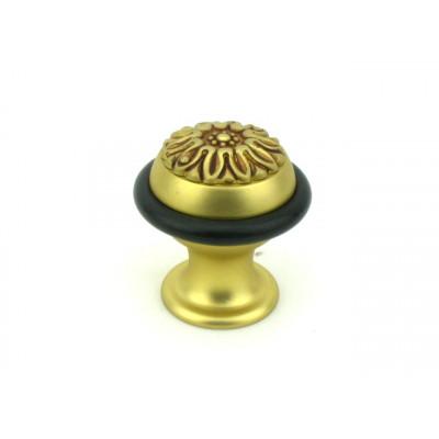 Упор (ограничитель хода) дверной напольный Venezia ST5 матовая бронза