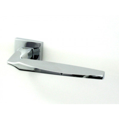 Дверная ручка Venezia Unique STONE полированный хром