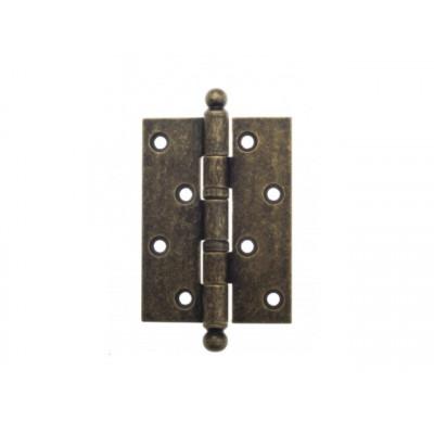 Дверная петля Venezia CRS010 102х76х3 мм античная бронза