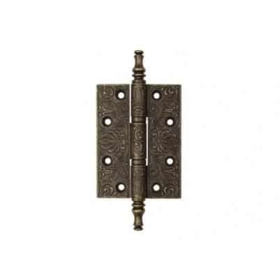 Дверная петля Venezia CRS011 102х76х4,0 мм античная бронза
