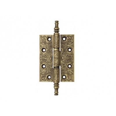 Дверная петля Venezia CRS011 102х76х4,0 мм матовая бронза