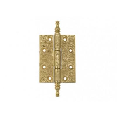 Дверная петля Venezia CRS011 102х76х4,0 мм полированная латунь