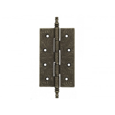 Дверная петля Venezia CRS012 152х89х4,0 мм античное серебро