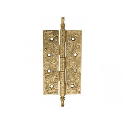 Дверная петля Venezia CRS012 152х89х4,0 мм полированная латунь