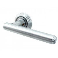 Дверная ручка Venezia EXA D8 матовый хром