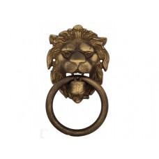 Дверной молоточек Venezia LEONE 190х110 матовая бронза