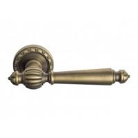 Дверная ручка Venezia PELLESTRINA D2 матовая бронза
