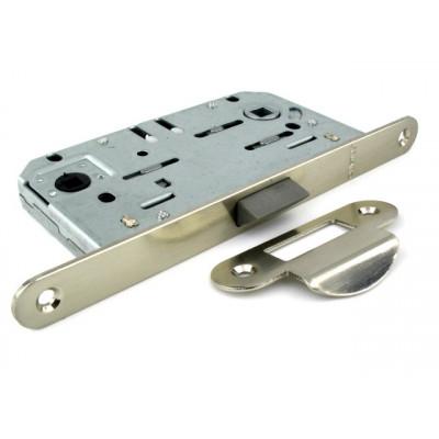Механизм замка в санузел Fuaro P96WC-50 SN никель матовый  с ответной частью