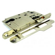 Механизм замка под цилиндр AGB Centro В010255006, с ответной частью В010000506, никель