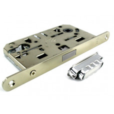 Механизм замка под цилиндр AGB MEDIANA POLARIS никель В051035006, с ответной частью