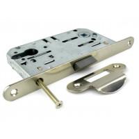 Механизм замка под цилиндр Fuaro P85C-50 SN никель матовый  с ответной частью