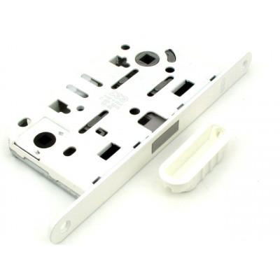 Механизм замка в санузел AGB MEDIANA POLARIS белый В06102.5091, с ответной частью