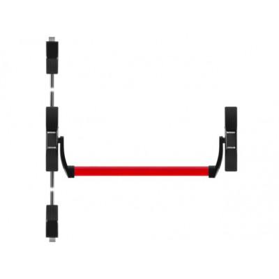 Ручка антипаника накладная с тягами Fuaro 1700C для двустворчатых дверей