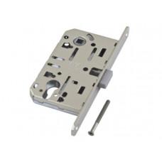 Механизм замка под цилиндр AGB MEDIANA POLARIS матовый хром В06103.5034, с ответной частью
