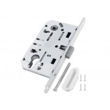 Механизм замка под цилиндр AGB MEDIANA POLARIS белый В06103.5091, с ответной частью