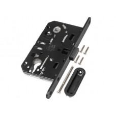 Механизм замка под цилиндр AGB MEDIANA POLARIS черный В06103.5093, с ответной частью