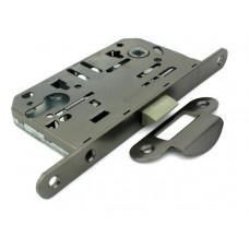 Механизм замка под цилиндр Fuaro P85C-50 GR графит  с ответной частью