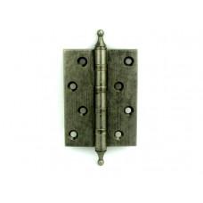 Дверная петля латунная универсальная Armadillo 500-A4 AS состаренное серебро