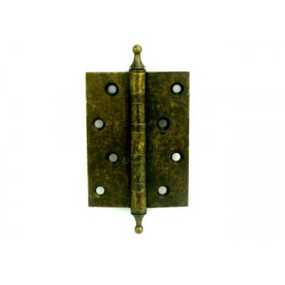 Дверная петля латунная универсальная Armadillo 500-A4 OB состаренная бронза