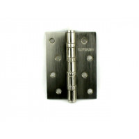 Дверная петля универсальная RENZ 100х75х2,5 мм матовый никель