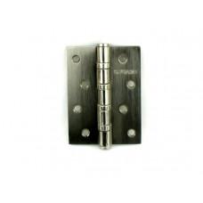 Дверная петля универсальная Fuaro 4BB 100х75х2,5 мм матовый никель