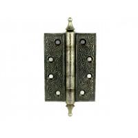 Дверная петля Armadillo CASTILLO 102х76х3.5мм универсальная AS серебро состаренное