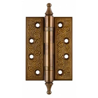 Дверная петля Armadillo CASTILLO 102х76х3.5мм универсальная BB-17 коричневая бронза