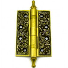Дверная петля Armadillo CASTILLO 102х76х3.5мм универсальная FG французское золото
